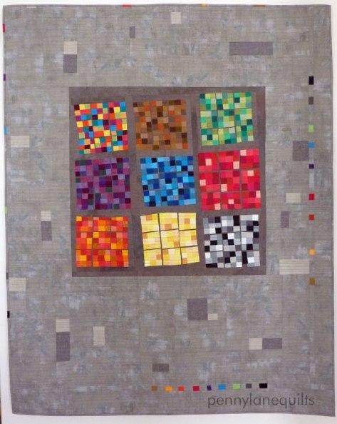 colored interpretration of sudoku puzzle