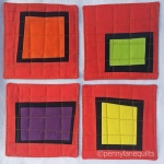 improv red coaster set