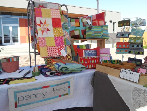 penny lane quilts booth