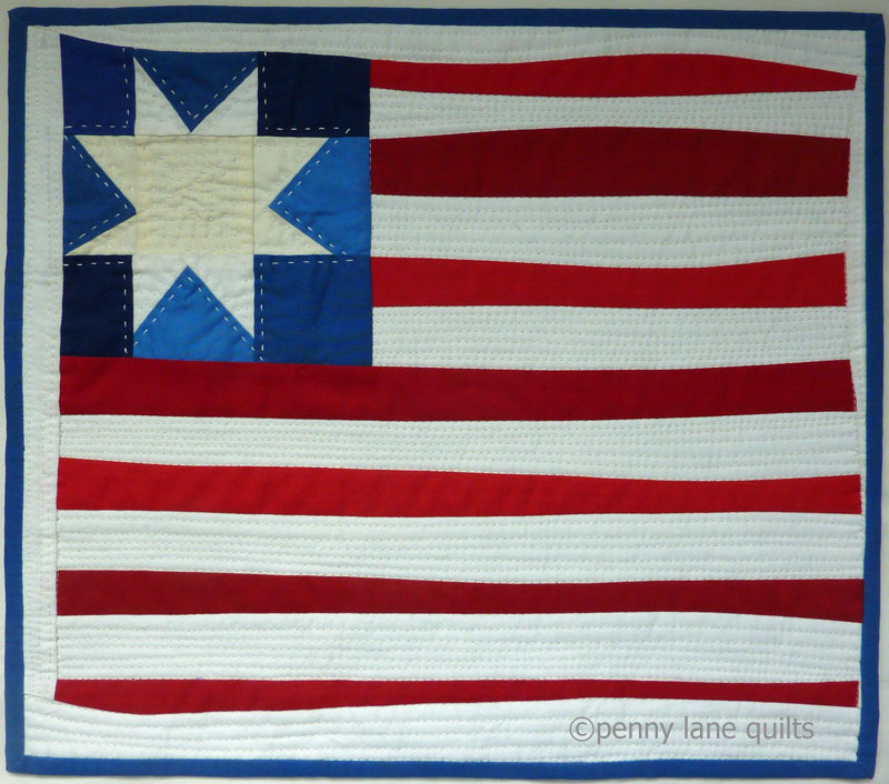 """""""Made in America"""", Marla Varner, penny lane quilts"""