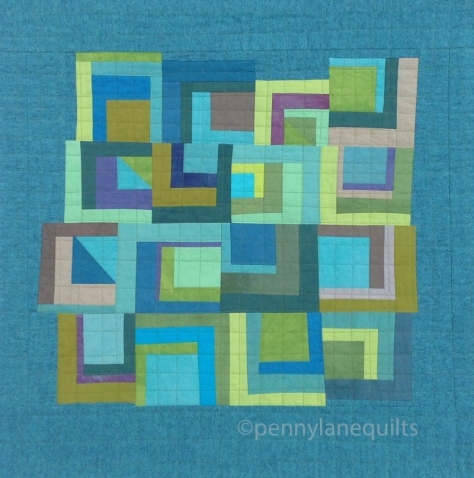 Inspiration blog post series - Tranquil quilt by Marla Varner