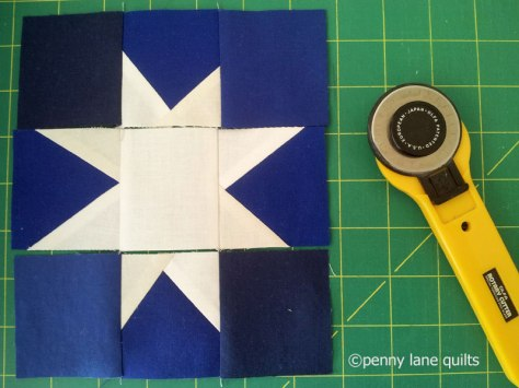 piecing a wonky star, penny lane quilts