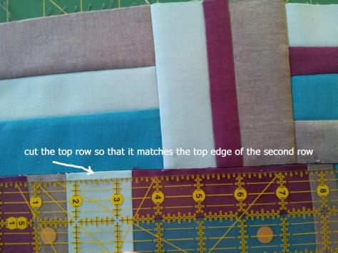 assemble rows