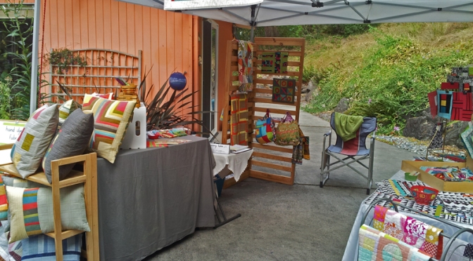 Penny Lane booth for the Port Townsend Studio Tour