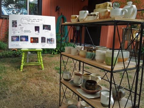 Gail Hustedde pottery