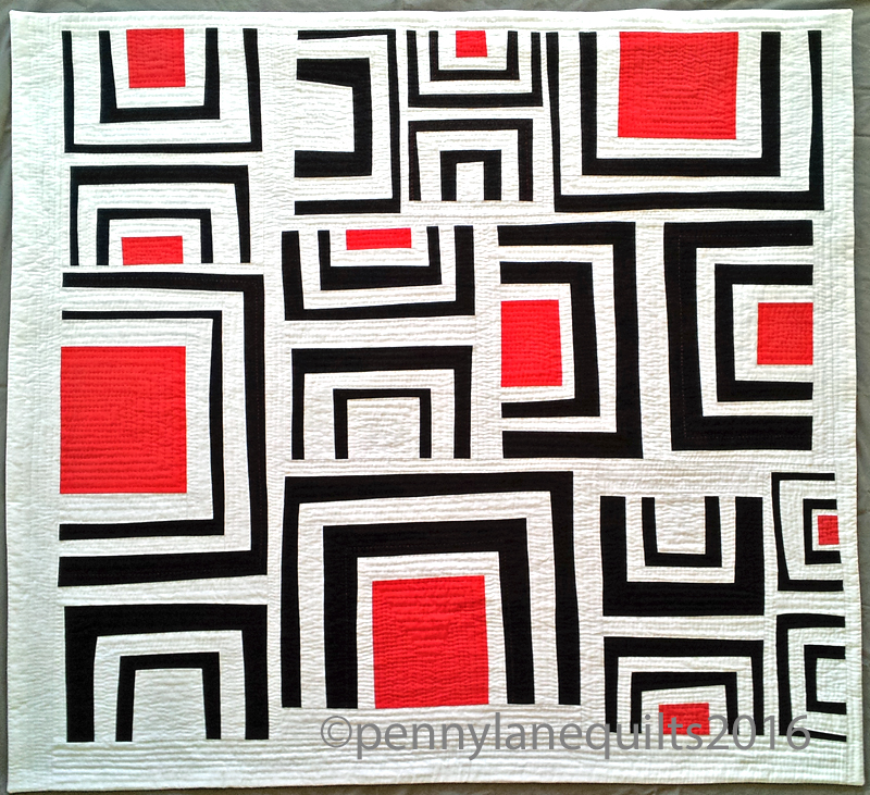 Trestle Nestle by Marla Varner, penny lane quilts