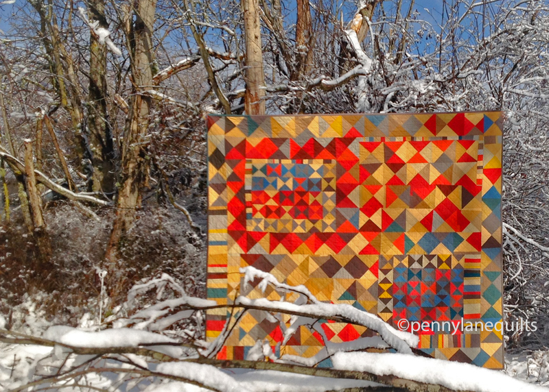 Hourglass Bedazzled by Marla Varner, penny lane quilts