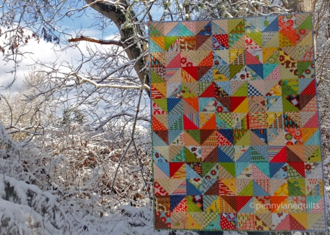 hand quilted by Marla Varner, penny lane quilts
