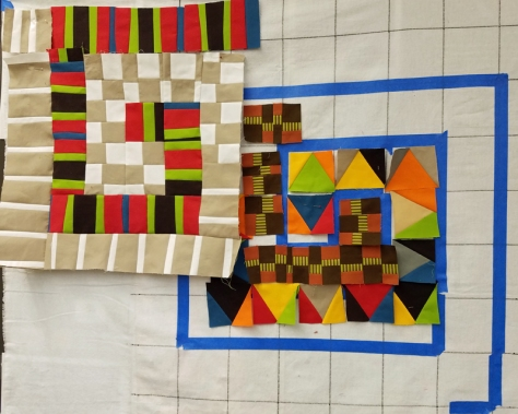 Marla Varner, penny lane quilts, Maria Shell workshop, work in progress