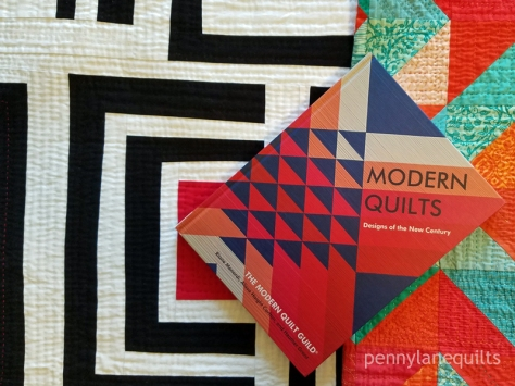 MQG book with quilts