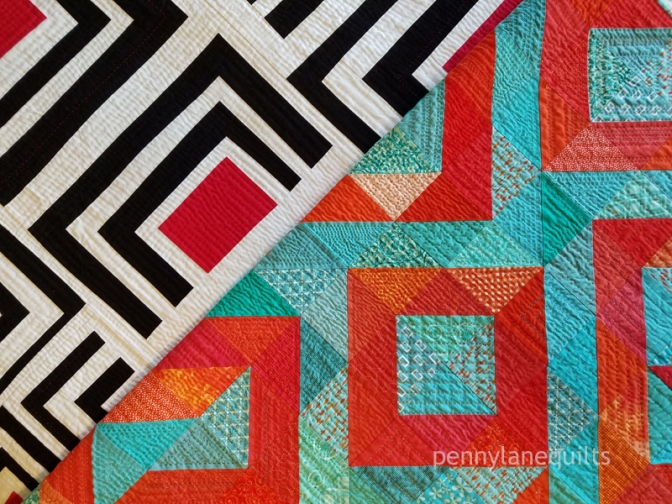 Coral Reef and Trestle Nestle by Marla Varner, penny lane quilts