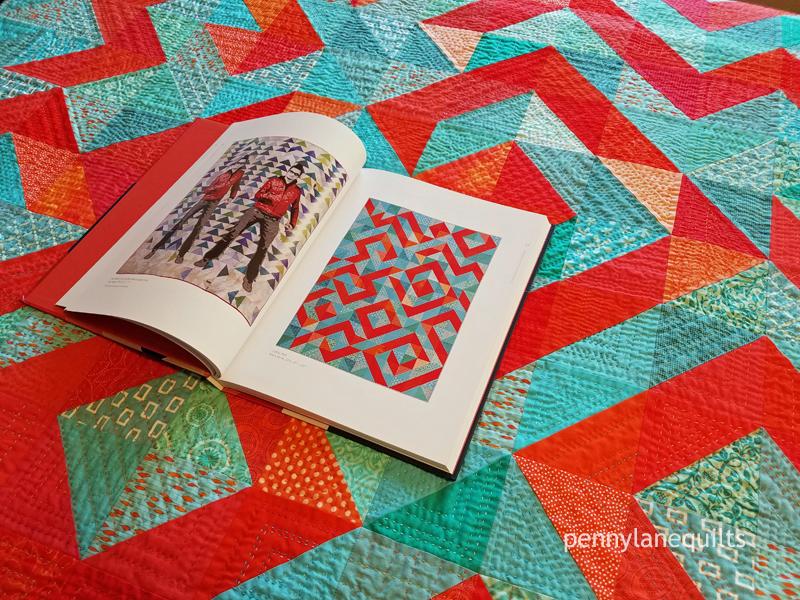 Double Elvis, Luke Haynes and Coral Reef, Marla Varner MQG book