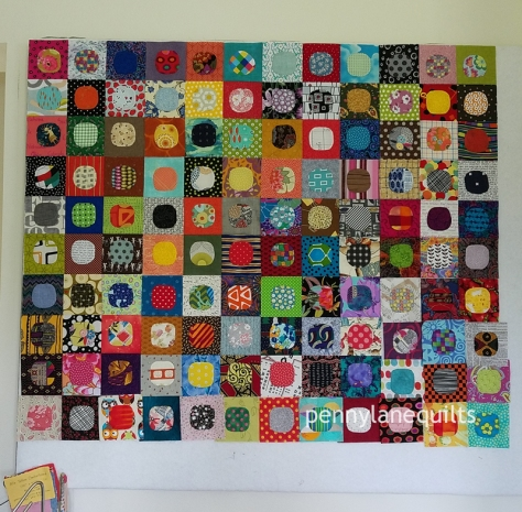 small design wall filled with squircles, Marla Varner