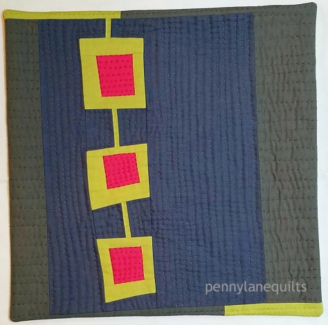 mini quilt, Marla Varner, penny lane quilts, hand quilted