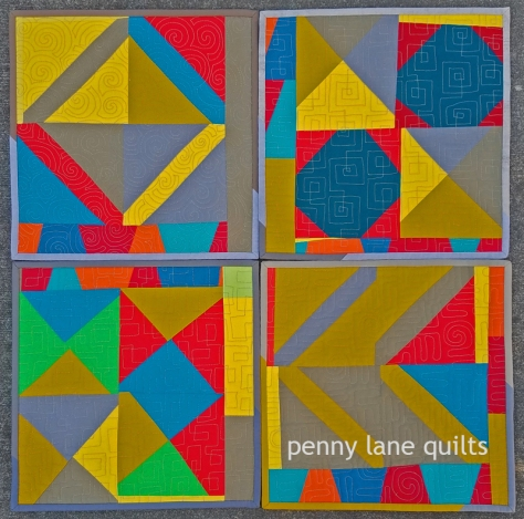 free-form placemats Marla Varner penny lane quilts