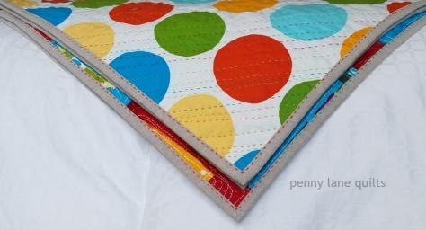 binding detail using perle cotton
