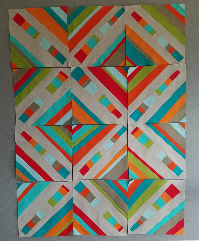 psychedelic baby blocks for my quilt