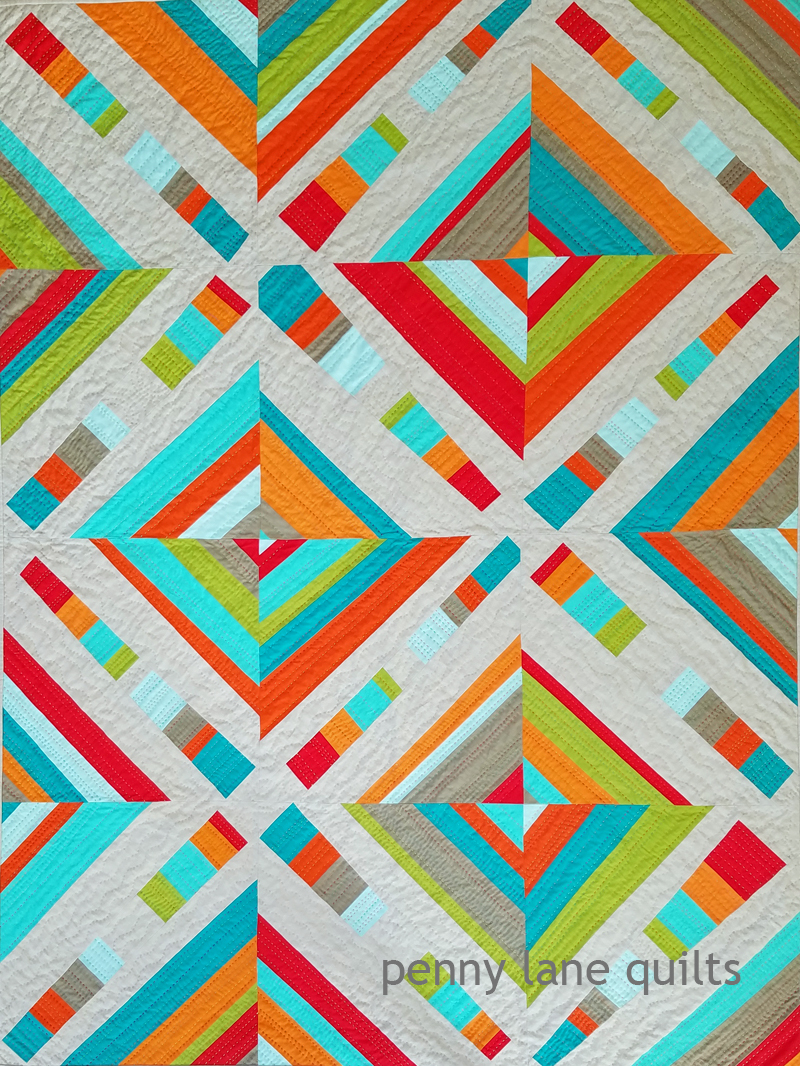 Kinetic, by Marla Varner, Penny Lane Quilts