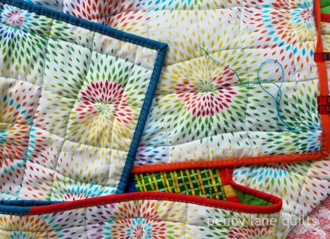 binding on baby junction, Marla Varner, penny lane quilts
