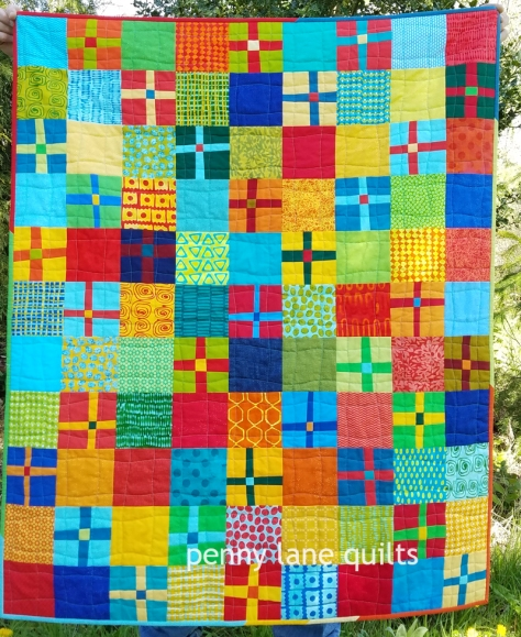 baby quilt plus blocks and charm squares