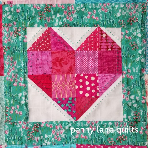 hand quilting detail, Marla Varner, penny lane quilts