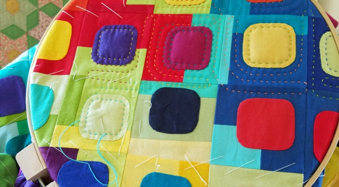 Hand Quilting: Try it, you'll like it!