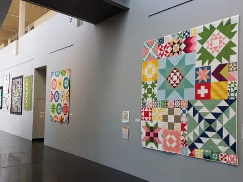 Bellingham MQG quilts at Whatcom
