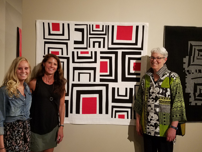 family with Trestle Nestle by Marla Varner, penny lane quilts
