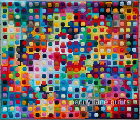 For the Love of Squircles by Marla Varner penny lane quilts