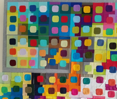 piecing the squircle quilt